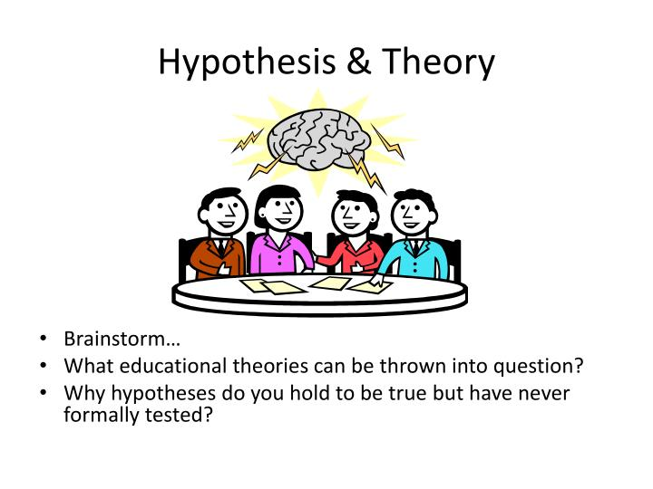 Hypothesis & Theory