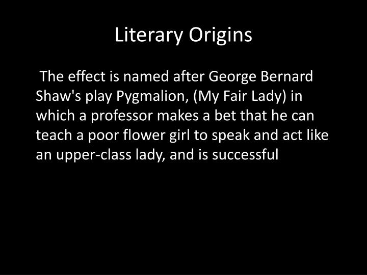 Literary Origins