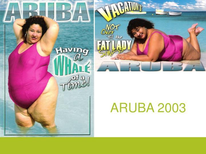 ARUBA 2003
