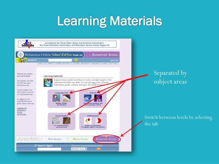 Learning Materials