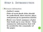 step 1 introduction1