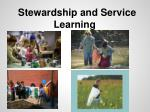 stewardship and service learning