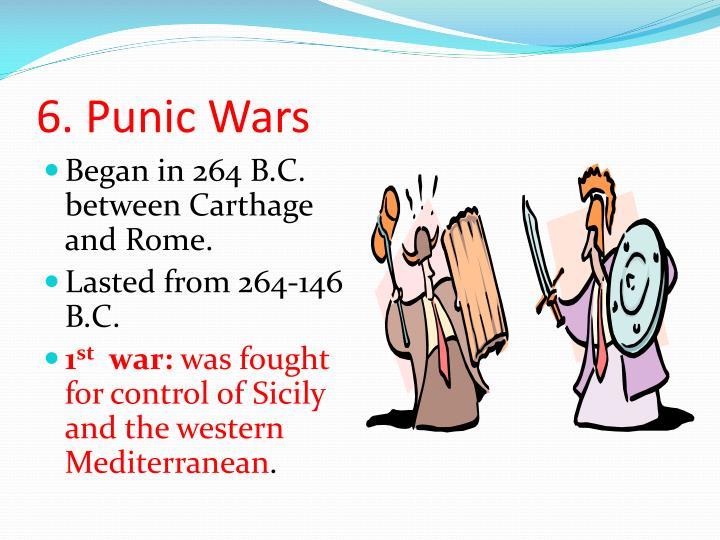 6. Punic Wars