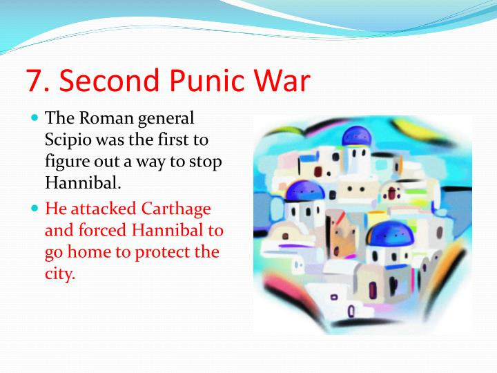 7. Second Punic War
