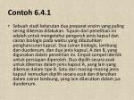 contoh 6 4 1