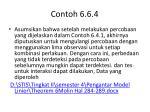 contoh 6 6 4