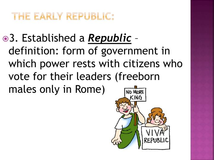 The Early Republic:
