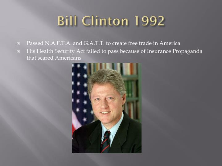 Bill Clinton 1992