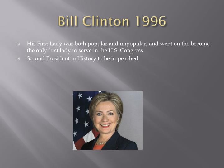 Bill Clinton 1996