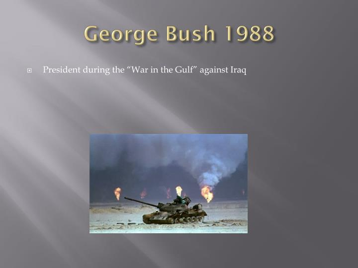 George Bush 1988