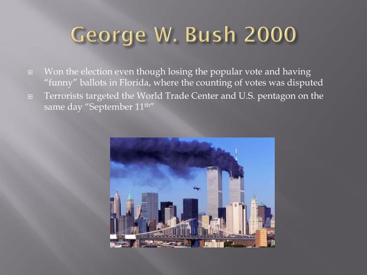 George W. Bush 2000