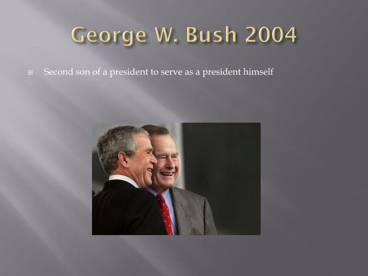 George W. Bush 2004