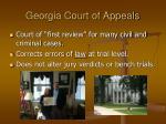 georgia court of appeals