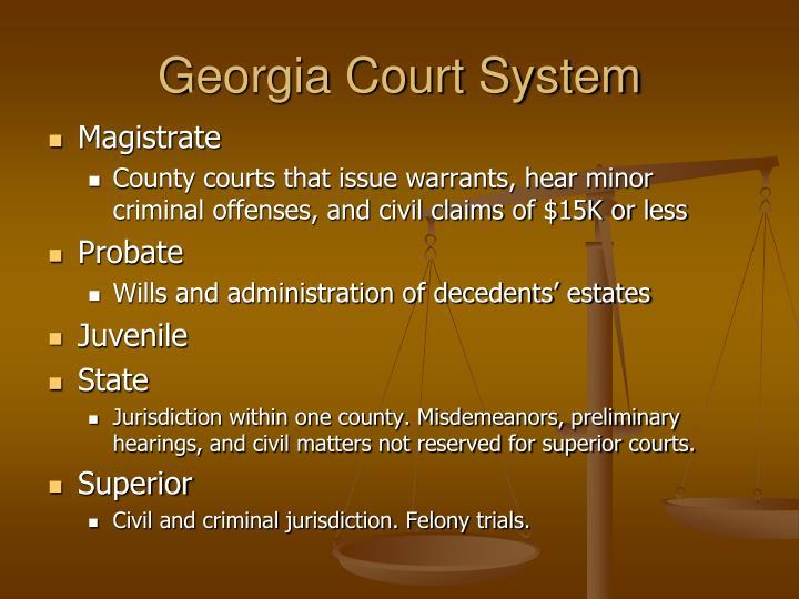 Georgia Court System