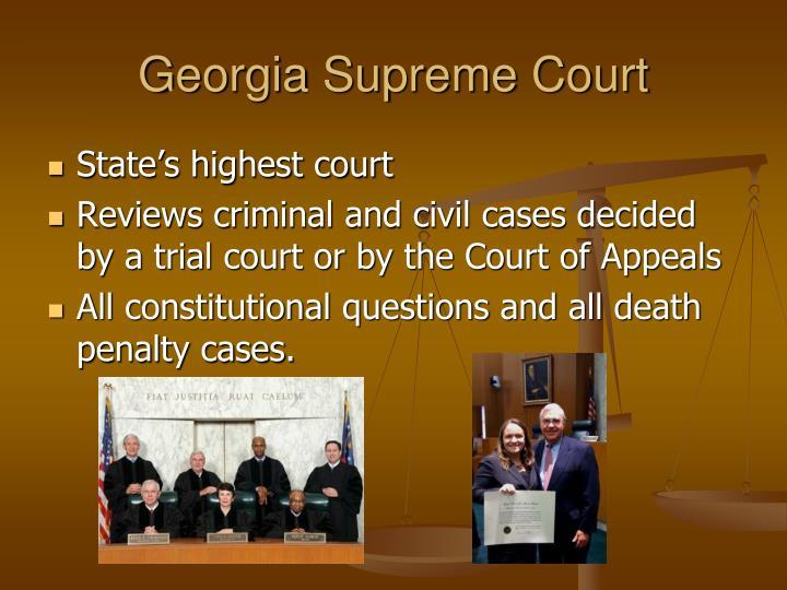 Georgia Supreme Court
