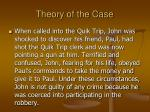 theory of the case