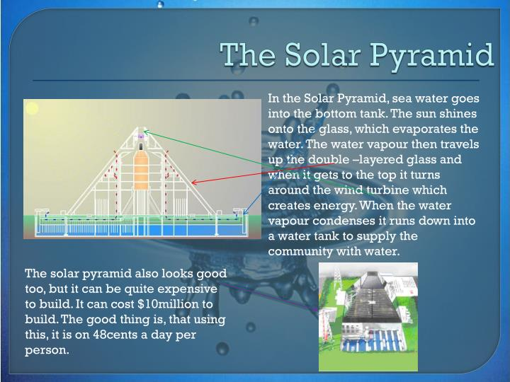 The Solar Pyramid