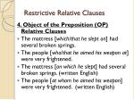 restrictive relative clauses3