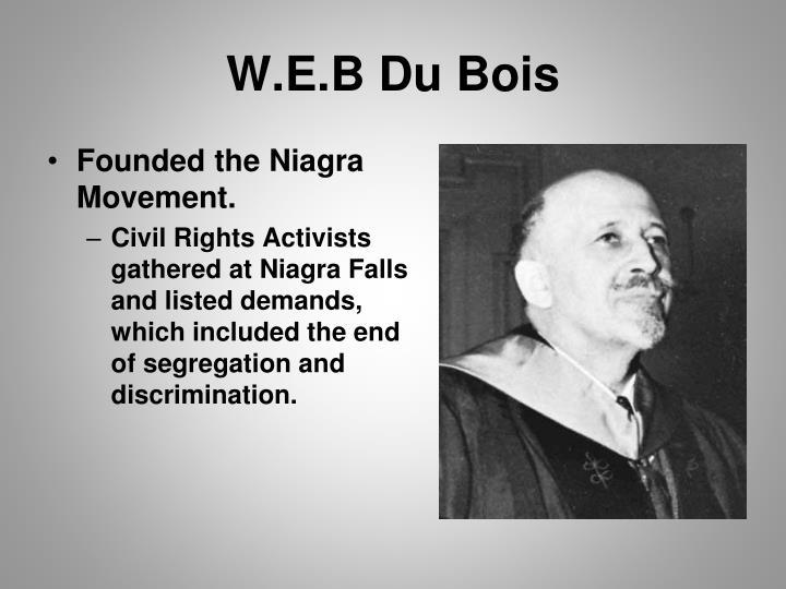 W.E.B Du Bois