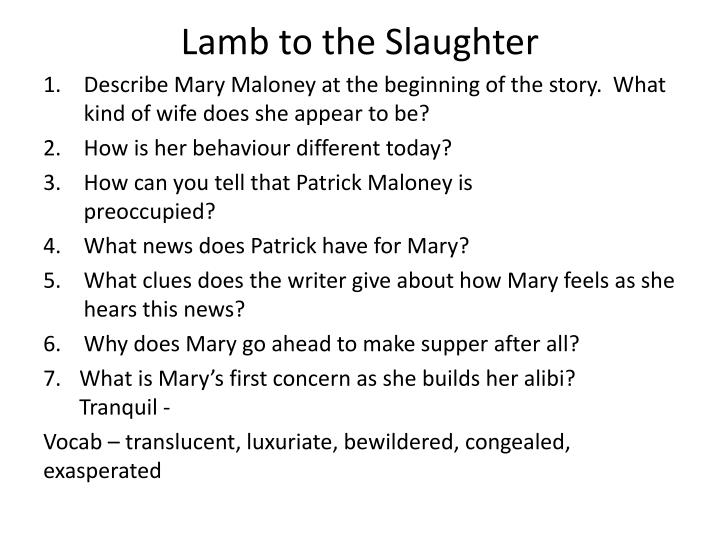 the lamb to the slaughter This is alfred hitchcock presents lamb to the slaughter (1958) - youtube by  huito stéven on vimeo, the home for high quality videos and.