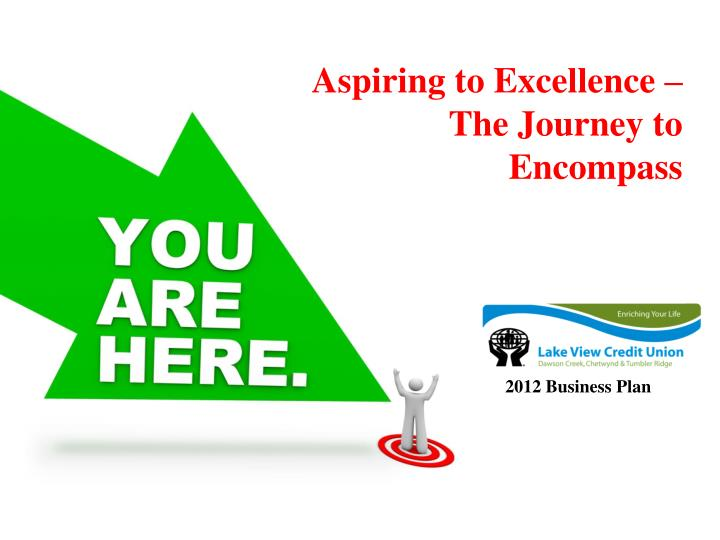 Aspiring to excellence the journey to encompass