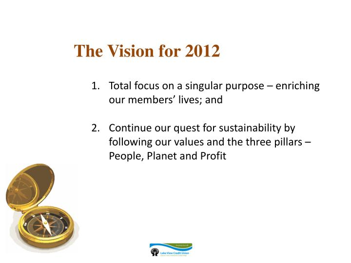 The Vision for 2012