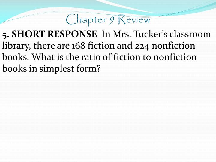 Chapter 9 Review