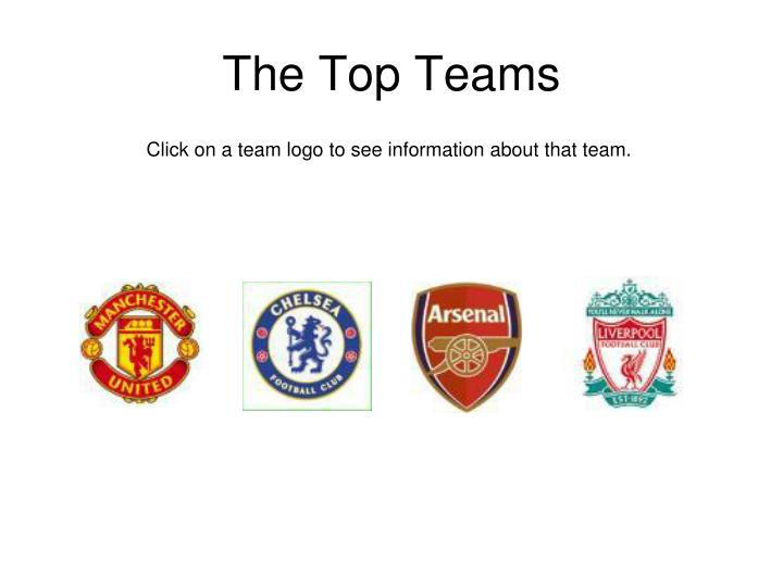 The Top Teams