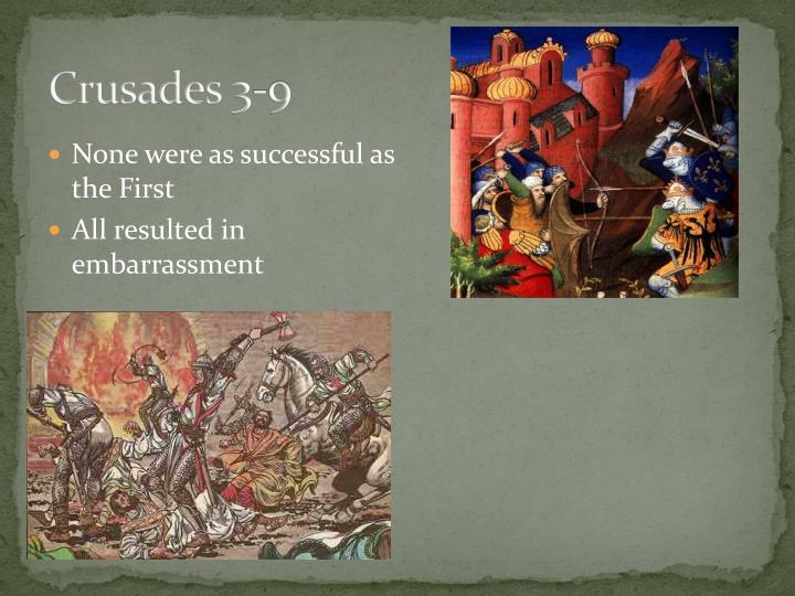 Crusades 3-9