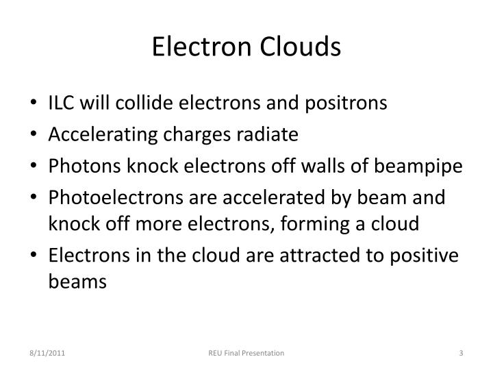 Electron Clouds