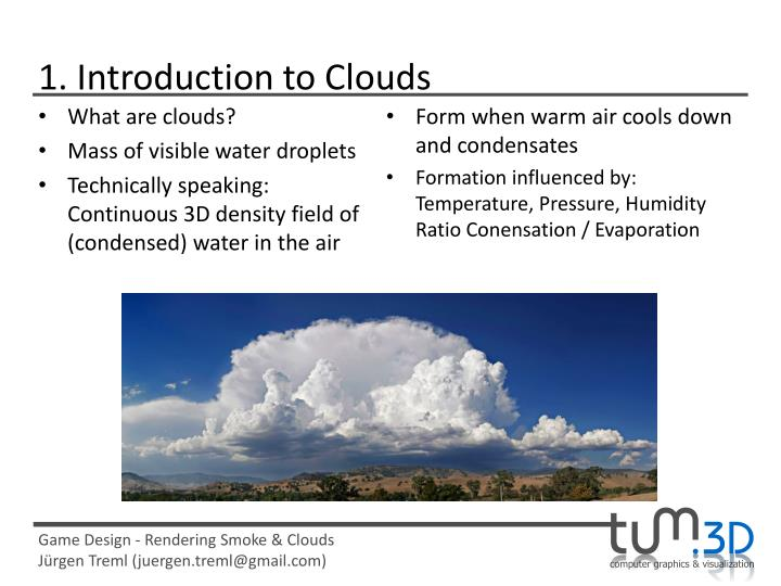 1. Introduction to Clouds