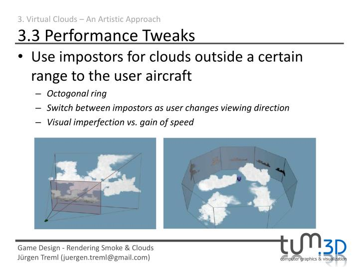 3. Virtual Clouds – An Artistic Approach