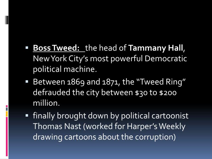 Boss Tweed: