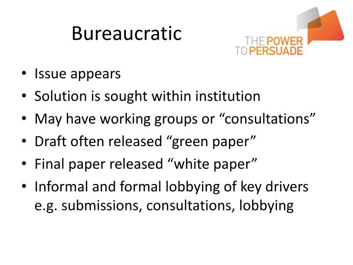 Bureaucratic