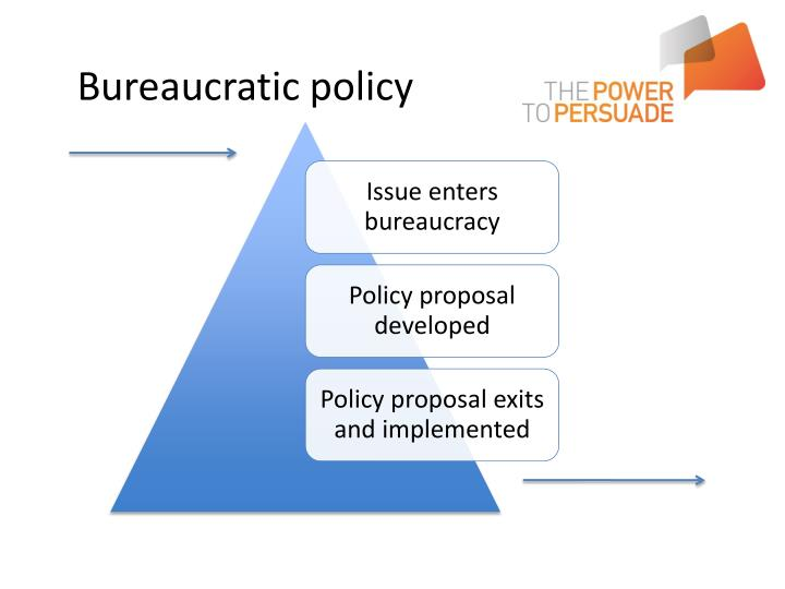Bureaucratic policy