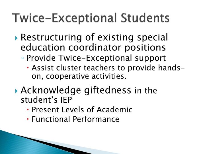 Twice-Exceptional Students
