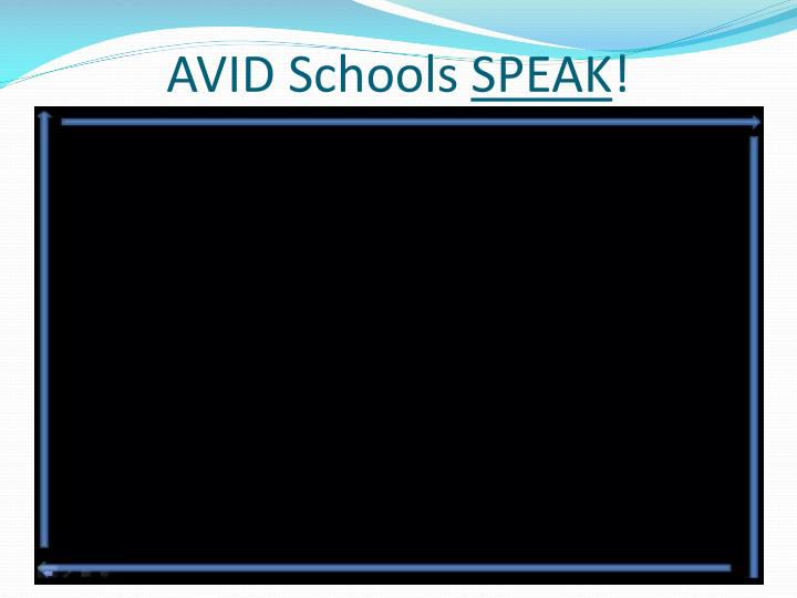 AVID Schools