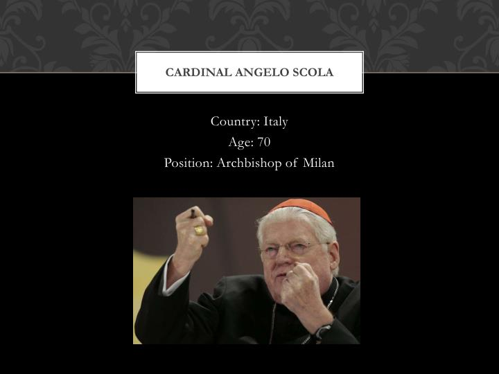 Cardinal Angelo