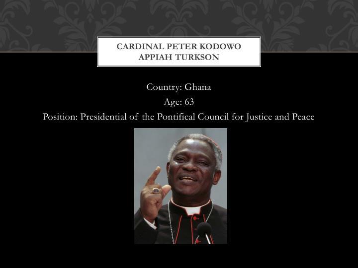Cardinal Peter