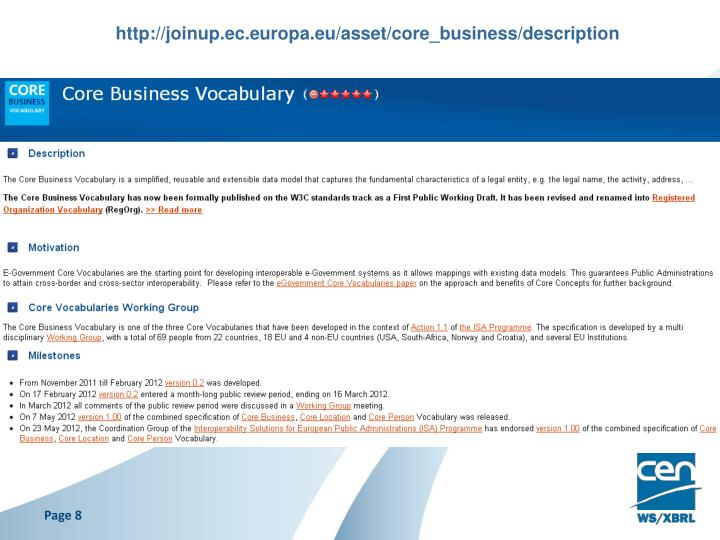 http://joinup.ec.europa.eu/asset/core_business/description