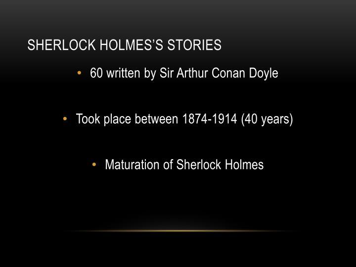 Sherlock Holmes's Stories