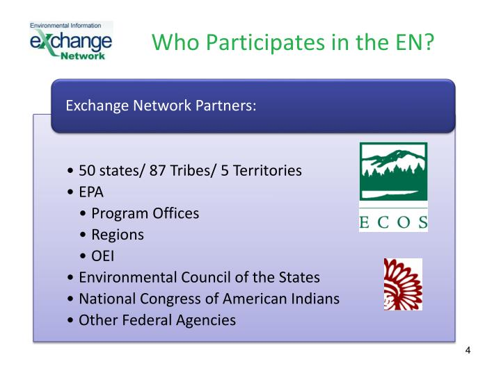 Who Participates in the EN?