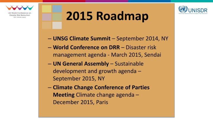 2015 Roadmap