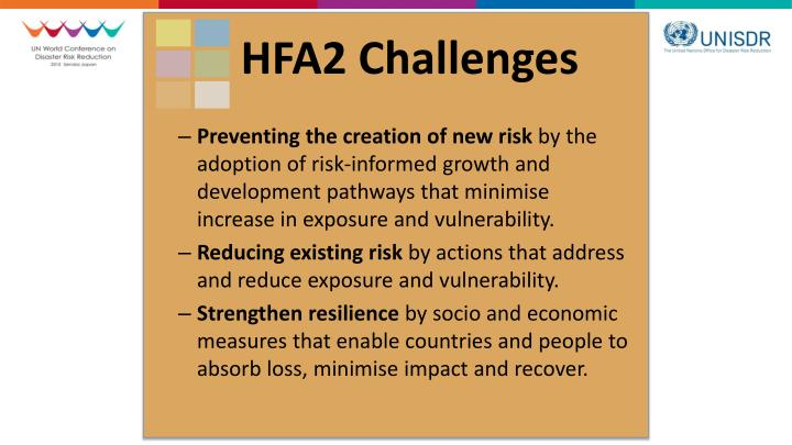 HFA2 Challenges