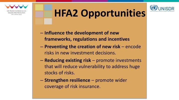 HFA2 Opportunities