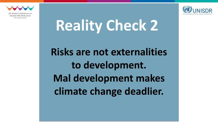 Reality Check 2