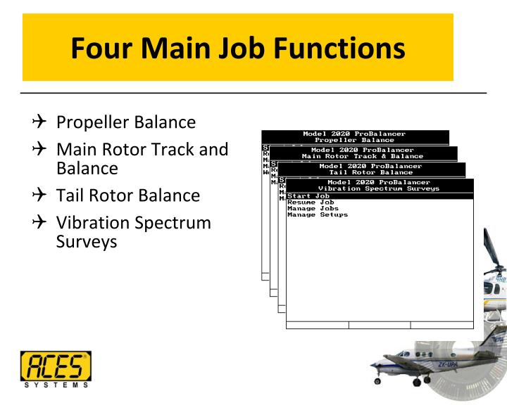 Four Main Job Functions