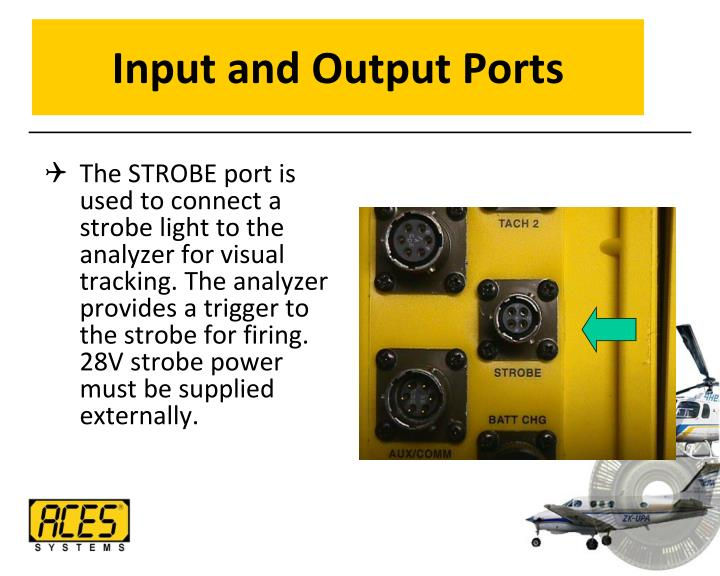Input and Output Ports