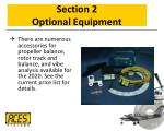 section 2 optional equipment
