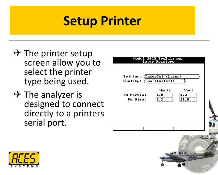 Setup Printer